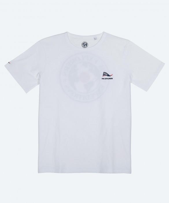 Iguana - TS Homme MC 1 - Blanc