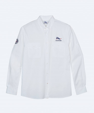 Macaw - Chemise Homme - Blanc