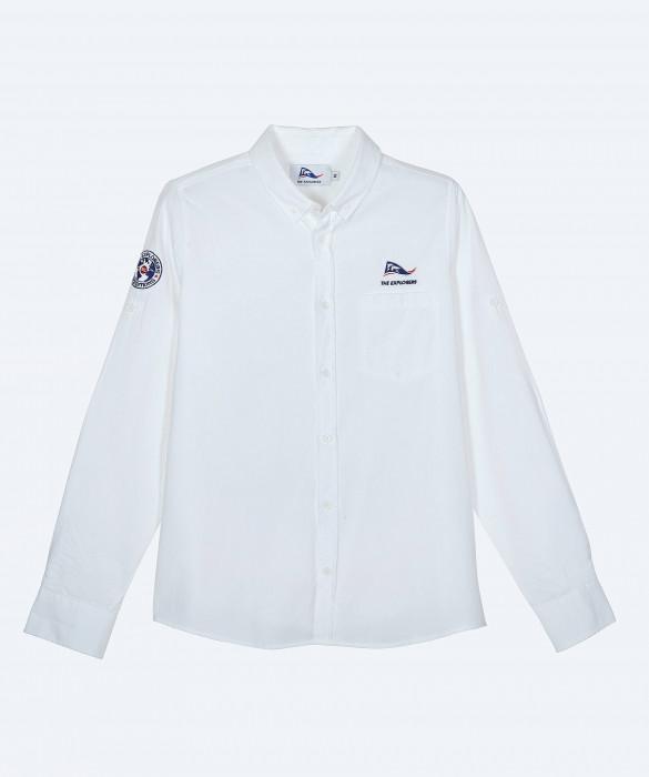 Women's The Explorers long sleeves white shirt - Ara