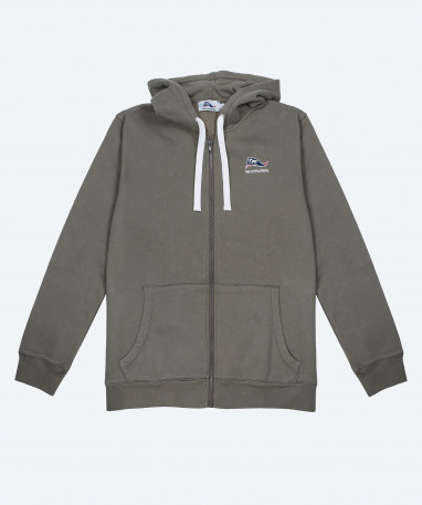 Pizzly - Sweat full zip capuche - Kaki