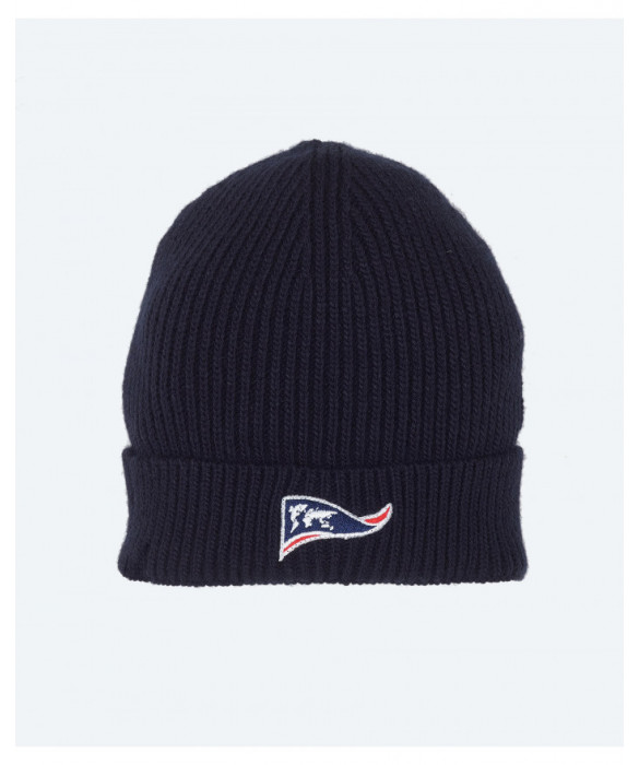 The Explorers' navy blue soft ribbed hat - Walrus